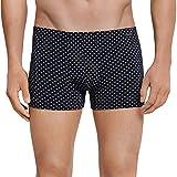 Schiesser Herren Boxershorts Shorts, Blau (Dunkelblau 803), Medium (Herstellergröße: 005)