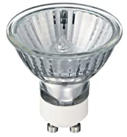 10 x Philips 35w GU10 240v Mains Halogen Spot Light Bulb Twistline ALU Warm White 40 Degree Beam Angle Lamp from PHILIPS