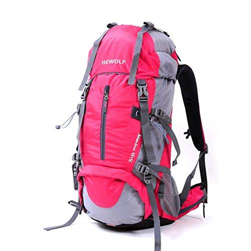 Bergsteigen Tasche/Outdoor-Rucksack/Radfahren/Wandern Pakete/Schulter Rucksack gefaltet-3 50L 4