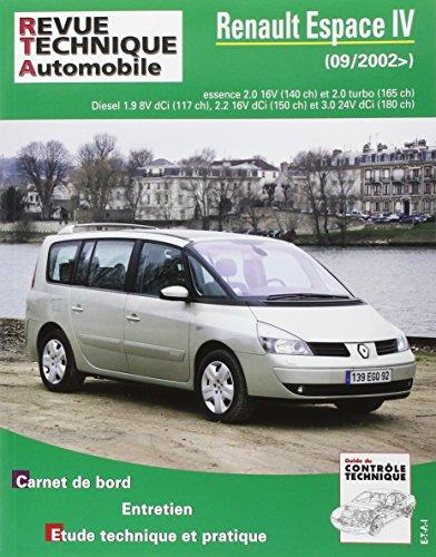 Tap N  419.1 Renault Espace IV (09/2002 —>)