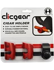 Clicgear & Kng Silicon Sigar Holder - Gancho para carro de golf