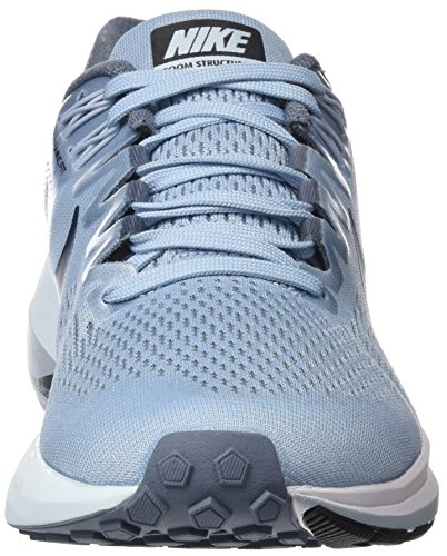 Nike Damen W Air Zoom Structure 21 Laufschuhe Blau (Armoury Blue/cirrus Blue/cerulean/armoury Navy 400)