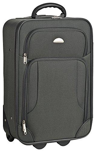 """HEIMWERT Trolley """"GALWAY"""" in Handgepäck Maßen - Robuster Mini-Koffer auf Rollen mit Zahlenschloss und gefüttertem Innenraum"""