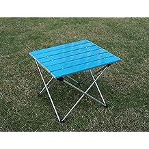 FASCJ mesas de barbacoa portátil escena de la fiesta de picnic cocina jardín al aire libre plegable de aluminio , c , 56*40cm