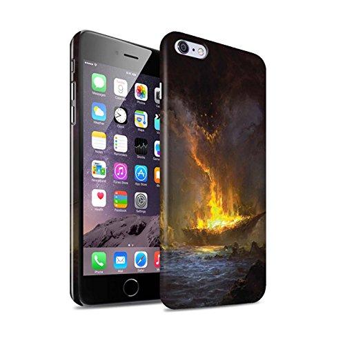 Offiziell Chris Cold Hülle / Glanz Snap-On Case für Apple iPhone 6S+/Plus / Schiffswrack Muster / Gefallene Erde Kollektion Schiffswrack