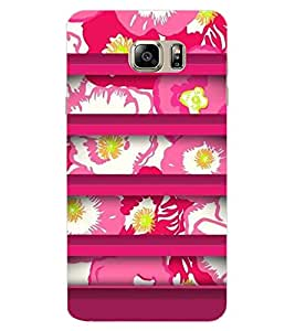ColourCraft Floral Design Back Case Cover for SAMSUNG GALAXY NOTE 7 DUOS
