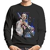 Photo de Sidney Maurer Original Portrait of Jimi Hendrix Men's Sweatshirt par Sidney Maurer