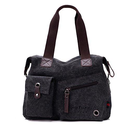 version coréenne de sacs à main en toile/Grand sac d'épaule/Loisirs Portable/package Diagonal/Sac à bandoulière-E E