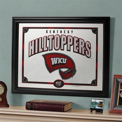 Memory Company NCAA Western Kentucky Universität Offizielles Spiegel, Multicolor, 58,4x 45,7cm Kentucky Coaster