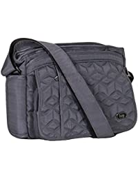 Lug Wings Cross Body Bag, Brushed Grey Cross Body Bag