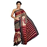 Korni Women Poly Cotton Banarasi Saree (...