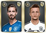DFB Team Cards Update Set WM 2018 - Classic Edition - Ferrero Sammelkarte Team Card (Marco Reus + Kevin Trapp)