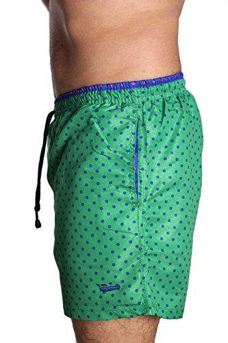 Tienda Calidad Aruba 15, Peignoir Homme Vert (Multicolor 15)