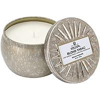 Voluspa Vermeil Maison Kerze Blond Tabac, klein - Hochwertige Duftkerze in dekorativer Dose aus Zinn mit Deckel preisvergleich bei billige-tabletten.eu