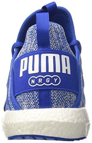 Man turco mare Scarpe Blue Bianco Puma Puma Nrgy Mega Maglia Croce agYqgx