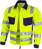 Qualitex Warnschutz Bundjacke Pro gelb orange (5XL, warngelb)
