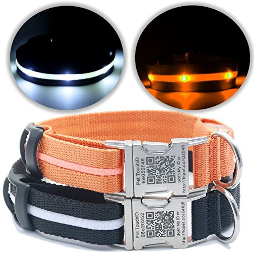 pettouchid-led-smart-dog-collar-usb-rechargeable-built-in-wearable-smart-pet-identity-tag-premium-co