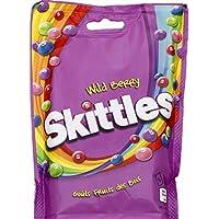 Skittles - Bonbons aux fruits wild berries - Le pochon de 174g - Prix Unitaire - Livraison Gratuit Sous 3 Jours
