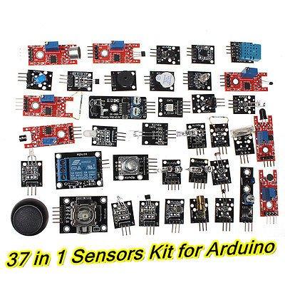 Generic massimo 37-in-1 scatola dei moduli per MCU Arduino Mega2560 UNO R3 Nano Regno Unito