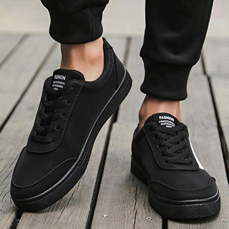 4cc1d4f17ed5 NANXIEHO Autunno Autunno Autunno e Inverno Pu Fashion Trend retrò senza  scarpe da ginnastica di velluto