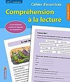 Cahier d'exercices Compréhension à la lecture (CE1 2e primaire) (bleu): Lis les histoires courtes et réponds aux questions !