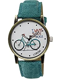 CATIVE™ Analogue Exclusive Stylish Sport Look Royal Blue Dial Watch for Women Men's & Boys - New Latest Edition Made in India