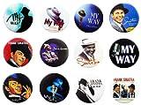 FRANK SINATRA Awesome Qualität Viel 12New Pins Anstecker Badge 3,2cm Fan