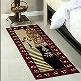 Ps Textile Hub Traditional Design Bedside Runner/Rug/Passage Rug, 50 X 150 cm, Vascose, Soft, Best for Bedroom/Living Room/Passage