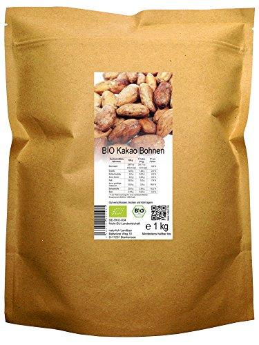 BIO Kakao Bohnen roh (1 kg)