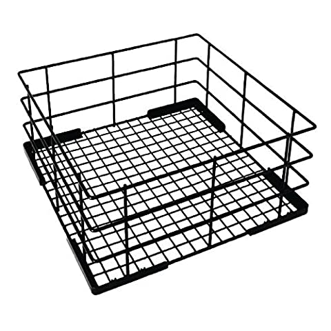 Vogue CD244 Wire High Sided Glass Basket, 500 mm
