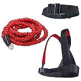 YNXing Fitness-Seil für Krafttraining Widerstandsseil für Konditionstraining Das Trainingsgerät Der Momentankraft für Zwei Personen Die Stärke und Muskel Trainieren