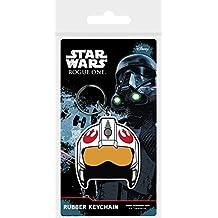 Star Wars rk38596C Rogue Uno Rebel casco de goma llavero