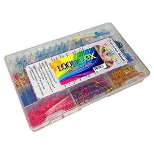 Deluxe Loom Box Equipment Case with Official Rainbow Loom ... Rainbow Loom Kit Amazon