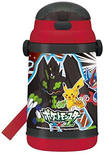 Bouteille d'eau Isotherme avec Paille Bouteille 400ML Pokémon Xy et Z Pokémon Froid Bouteille d'eau Ssh4°C