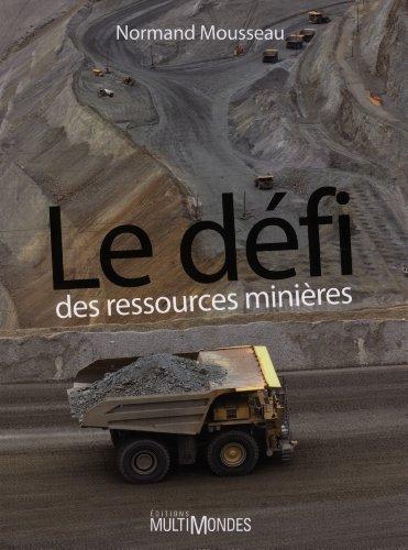 Le dfi des ressources minires