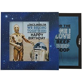 Hallmark star wars birthday card r2d2 scratch reveal medium hallmark star wars birthday card for one i love r2d2 slider medium square bookmarktalkfo Choice Image