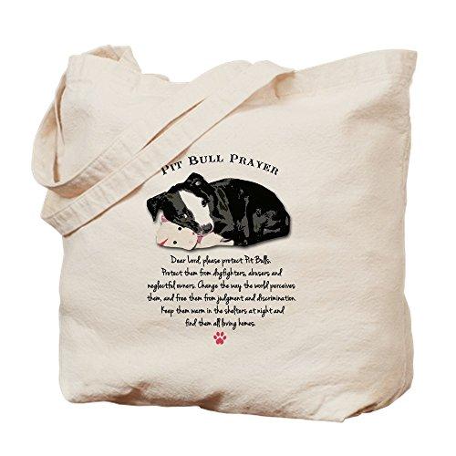 Bing Pit Bull Gebet–Leinwand Natur Tasche, Reinigungstuch Einkaufstasche (Drucken Bull Leinwand)