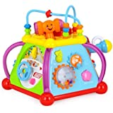 Playking Huile Toys Baby Toy Musical Activity Cube Play Center Toy with 15 Functions & Skills Learning Educational Toys for Children - Happy Small World