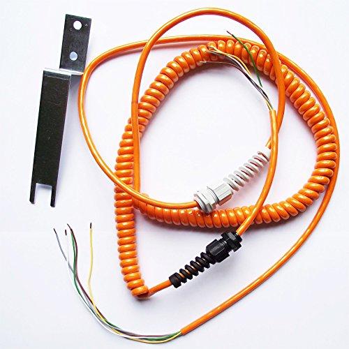 Spiralkabel Wendelkabel Torantrieb Rolltor Kontaktschiene Sektionaltor