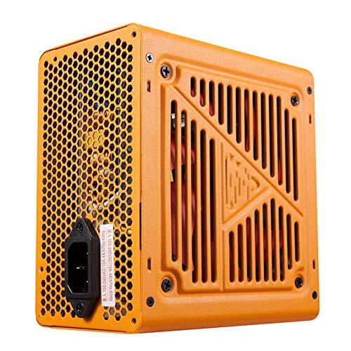 DJG Netzteil, 100-240V 50-60 Hz 10A Computer-Netzteil Silent-Bronze-Zertifizierung Desktop-Rechner Power Supply 400W / 500W / 600W Spitzen 500W / 600W / 700W,400W