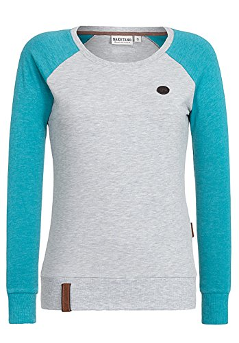 Damen Longsleeve Naketano Perverse III T-Shirt (Fein Tank Gerippte)