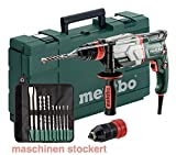 Multihammer/Bohrhammer UHE 2660-2 Quick Set | + umfangreiches Zubehör, 4 Funktionen: Hammerbohren, Bohren in zwei Gängen und Meißeln, Sicherheitskupplung | 2,8 J/800 W