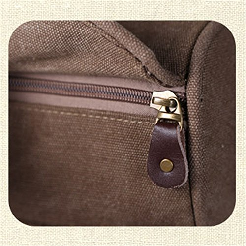 männer freizeit kleine tasche sport fitness reisetasche khaki.