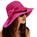 La Haute - Sombrero de paja para mujer,...