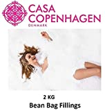 Casa Copenhagen 2 Kg High Density Premium A-Grade Bean Bag Refill/Filler