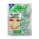 Rolly Disposable toothbrush: Einweg Zahnbürste - Pfefferminze - 15 einzelne Beutel …