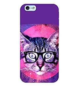 Printtech Iphone 6 / Iphone 6s Back Cover Case Cat Pussy Latest Design - Flexible Shockproof Slim