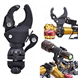 #1: Home Cube® Torch Clip Mount Bicycle Front Light Bracket Flashlight Holder. (Only Holder)