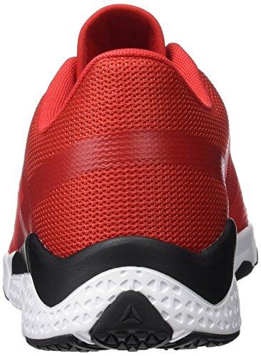 Trainflex Scarpe Fitness Nero Peltro Primordiale Rosso multicolore Bianco Nero Reebok Bianco Uomo Rosso Rosso 4EdEqU