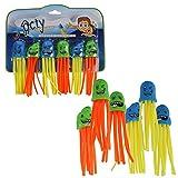 Annastore Tauch-Spielzeug Okty 6-TLG. Set - Wasserspaß Tauchspielzeug Wasserspielzeug